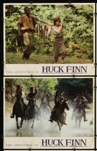 5r059 ADVENTURES OF HUCK FINN 8 LCs '93 Elijah Wood as Huckleberry, Courtney Vance as Jim!