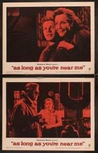 5r068 AS LONG AS YOU'RE NEAR ME 8 LCs '56 Maria Schell strangely lived her love-life twice!