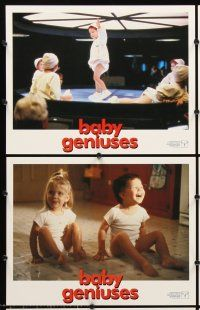 5r071 BABY GENIUSES 8 LCs '99 wacky intelligent infants, sci-fi directed by Bob Clark!