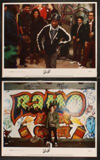 5r077 BEAT STREET 8 LCs '84 Guy Davis, Rae Dawn Chong, old school hip-hop, poppin' & lockin'!