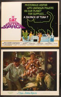 5r025 CAT FROM OUTER SPACE 9 LCs '78 Disney, Ken Barry, Sandy Duncan, feline alien sci-fi!