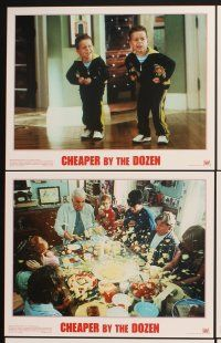 5r012 CHEAPER BY THE DOZEN 10 LCs '03 Steve Martin, Hilary Duff, Bonnie Hunt, Ashton Kutcher