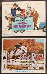 5r029 HORSE IN THE GRAY FLANNEL SUIT 9 LCs '69 Walt Disney, Dean Jones, Diane Baker, Kurt Russell