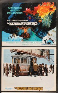 5r031 ISLAND AT THE TOP OF THE WORLD 9 LCs '74 Walt Disney adventure, David Hartman, Donald Sinden