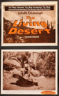 5r035 LIVING DESERT 9 LCs R60s first feature-length Disney True-Life adventure, snakes & tortoises!