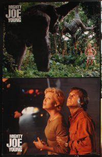5r016 MIGHTY JOE YOUNG 10 LCs '98 Charlize Theron, Bill Paxton & special FX images with giant ape!