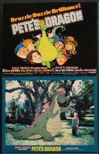 5r039 PETE'S DRAGON 9 LCs '77 Walt Disney, Helen Reddy, Mickey Rooney, great images!