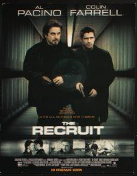 5r019 RECRUIT 10 LCs '03 Al Pacino, Colin Farrell, Bridget Moynahan, trust, betrayal, deception!
