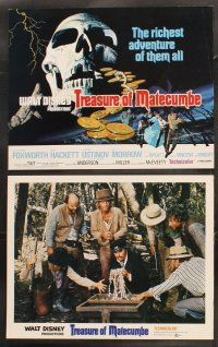 5r048 TREASURE OF MATECUMBE 9 LCs '76 Walt Disney, Robert Foxworth, Joan Hackett & Peter Ustinov!