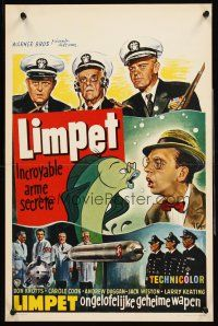 5t707 incredible mr limpet belgian 39 64 wacky don knotts for Don knotts fish movie