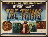 5x073 THING style A 1/2sh'51 Howard Hawks classic horror, natural or supernatural from another world