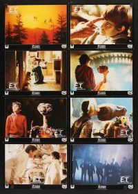 5y044 E.T. THE EXTRA TERRESTRIAL video German LC poster R80s Spielberg, Henry Thomas with the alien!