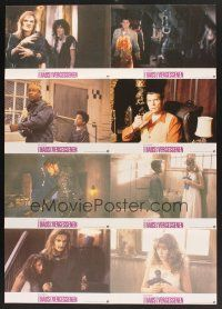 5y047 PEOPLE UNDER THE STAIRS German LC poster '91 Wes Craven, different horror images!