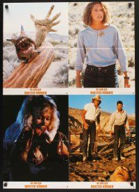 5y050 TREMORS 2 German LC posters '90 Kevin Bacon, Fred Ward, Reba McEntire, monster worms!