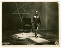5z153 METROPOLIS #18 German 9x12 LC '27 incredible image of the iconic robot alone in room!