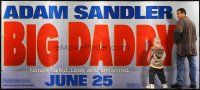 6a044 BIG DADDY 30sh '99 great image of Adam Sandler & kid relieving themselves!