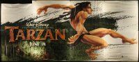 6a053 TARZAN 30sh '99 cool Walt Disney jungle cartoon, from Edgar Rice Burroughs story!