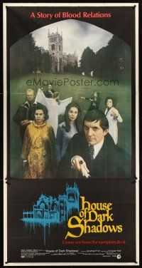 6a035 HOUSE OF DARK SHADOWS 3sh '70 how vampires do it, a bizarre act of unnatural lust!