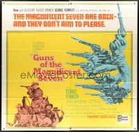 6a026 GUNS OF THE MAGNIFICENT SEVEN 6sh '69 George Kennedy, James Whitmore, Reni Santoni