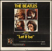 6a028 LET IT BE 6sh '70 The Beatles, John Lennon, Paul McCartney, Ringo Starr, George Harrison