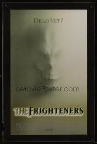 6a076 FRIGHTENERS lenticular advance 1sh '96 directed by Peter Jackson, cool skull horror image!
