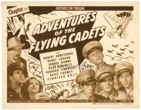 6b010 ADVENTURES OF THE FLYING CADETS chapter 11 TC '43 Universal serial, Hostages for Treason!
