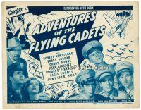 6b011 ADVENTURES OF THE FLYING CADETS chapter 6 TC '43 Universal serial, Rendezvous with Doom!