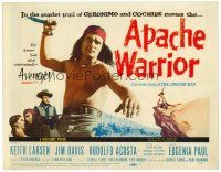 6b023 APACHE WARRIOR TC '57 Native American Indian Keith Larson only knew one command, avenge!