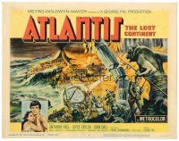 6b028 ATLANTIS THE LOST CONTINENT TC '61 George Pal underwater sci-fi, cool fantasy art!