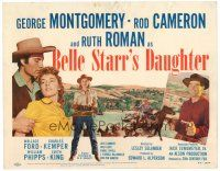 6b040 BELLE STARR'S DAUGHTER TC '48 Ruth Roman with two guns, George Montgomery, Rod Cameron!