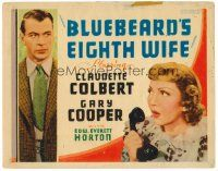 6b056 BLUEBEARD'S EIGHTH WIFE other company TC '38 Claudette Colbert & millionaire Gary Cooper!