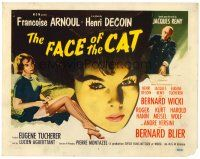 6b075 CAT TC R60s art of French Francoise Arnoul, The Face of the Cat!!
