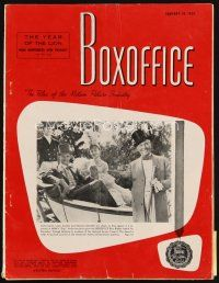 6d062 BOX OFFICE exhibitor magazine January 19, 1959 14-page MGM full-color yearbook, Ben-Hur!