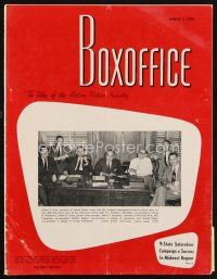 6d064 BOX OFFICE exhibitor magazine March 2, 1959 UA's 40th Anniversary, Some Like It Hot!