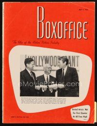 6d066 BOX OFFICE exhibitor magazine May 9, 1966 different preliminary art for Man For All Seasons!