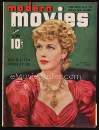 6d096 MODERN MOVIES magazine April 1939 portrait of pretty Anita Louise in Little Princess!