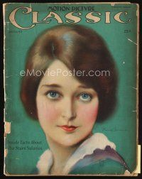 6d081 MOTION PICTURE CLASSIC magazine August 1925 artwork of pretty Eleanor Boardman by Dahl!