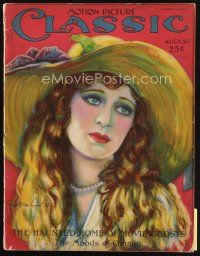 6d084 MOTION PICTURE CLASSIC magazine August 1926 art of Dolores Costello by Geo. Blackstock!