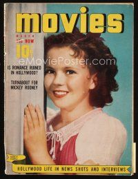 6d098 MODERN MOVIES magazine March 1940 wonderful portrait of cute smiling Shirley Temple!