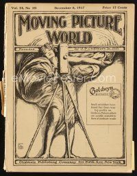 6d050 MOVING PICTURE WORLD exhibitor magazine December 8, 1917 Fairbanks, Arbuckle, Nazimova!