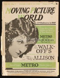 6d051 MOVING PICTURE WORLD exhibitor magazine Feb 14, 1920 Theda Bara in Cleopatra & LOTS more!