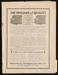 6d044 MOVING PICTURE WORLD exhibitor magazine June 25, 1910 hundred year old movie studio ads!