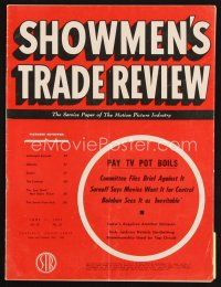 6d056 SHOWMEN'S TRADE REVIEW exhibitor magazine June 11, 1955 It Came From Beneath the Sea!