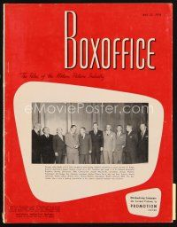 6h098 BOX OFFICE exhibitor magazine May 22, 1954 The High and the Mighty, Caine Mutiny!