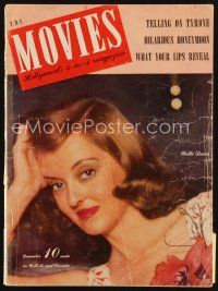 6h132 MODERN MOVIES magazine December 1941 great head & shoulders close up of Bette Davis!