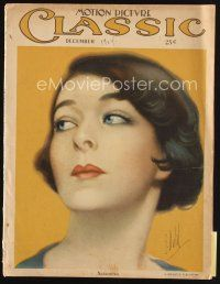 6h135 MOTION PICTURE CLASSIC magazine December 1924 wonderful artwork of Nazimova by E. Dahl!