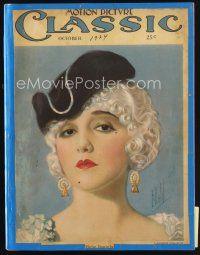 6h134 MOTION PICTURE CLASSIC magazine October 1924 art of pretty Bebe Daniels by E. Dahl!