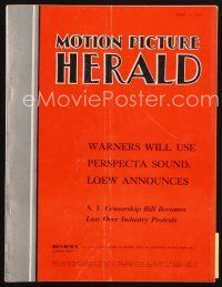 6h084 MOTION PICTURE HERALD exhibitor magazine April 17, 1954 Marilyn in Scope, Dial M for Murder!