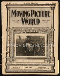 6h076 MOVING PICTURE WORLD exhibitor magazine Nov 27, 1915 first version of Prince and the Pauper!