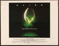 6j007 ALIEN 1/2sh '79 Ridley Scott outer space sci-fi classic, cool hatching egg image!